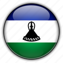 africa, lesotho icon
