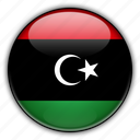 africa, libya icon