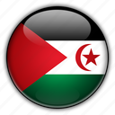 africa, arab, democratic, morocco, republic, sahrawi icon