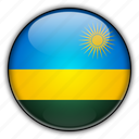 africa, rwanda icon