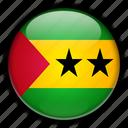 africa, and, principe, sao, tome icon