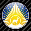 africa, bahr, el, ghazal, south, sudan, western icon