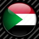 africa, sudan icon