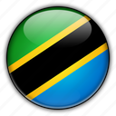 africa, tanzania icon