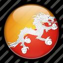 asia, bhutan icon