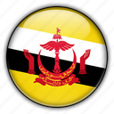 asia, brunei icon