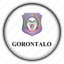 asia, gorontalo, indonesia icon