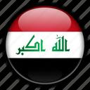 asia, iraq icon