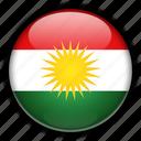 asia, iraq, kurdistan icon