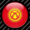asia, kyrgyzstan icon