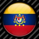 asia, federal, malaysia, territories icon