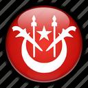 asia, kelantan, malaysia icon