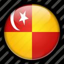 asia, malaysia, selangor icon