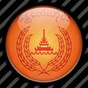 asia, mandalay, myanmar icon