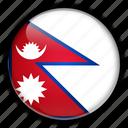 asia, nepal icon