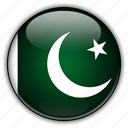 asia, pakistan icon