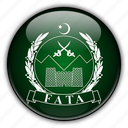 asia, fata, pakistan icon