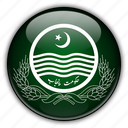 asia, pakistan, punjab icon