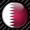 asia, qatar icon