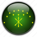 adygea, asia, russia icon