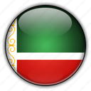 asia, chechen, republic, russia icon