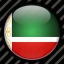 asia, chechen, republic, russia icon