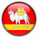 asia, chelyabinsk, russia icon