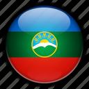 asia, cherkessia, karachay, russia icon