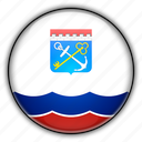 asia, leningrad, russia icon