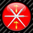 asia, russia, tula icon