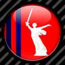 asia, russia, volgograd icon