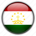 asia, tajikistan icon