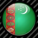 asia, turkmenistan icon