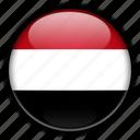 asia, yemen icon