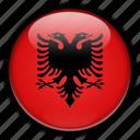 albania, europe icon