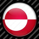 denmark, europe, greenland icon