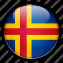europe, finland, land icon