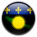 europe, france, guadeloupe icon