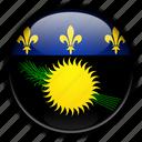 europe, france, guadeloupe icon