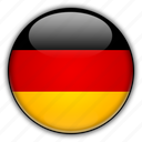 europe, germany icon