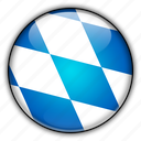 bavaria, europe, germany icon