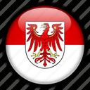 brandenburg, europe, germany icon