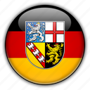 europe, germany, saarland icon