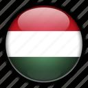 europe, hungary icon