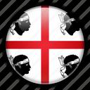 europe, italy, sardinia icon