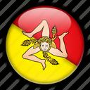 europe, italy, sicily icon