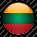 europe, lithuania icon