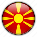 europe, macedonia icon