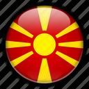 europe, macedonia icon