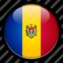 europe, moldova icon